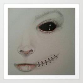 Blackeye Art Print