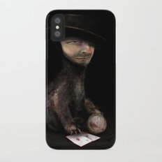 Charles the cat iPhone X Slim Case