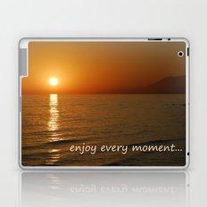 Enjoy every moment... Laptop & iPad Skin