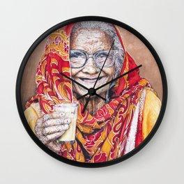 Beauty Is... Wall Clock