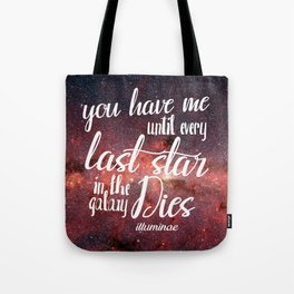 Illuminae Quote Tote Bag