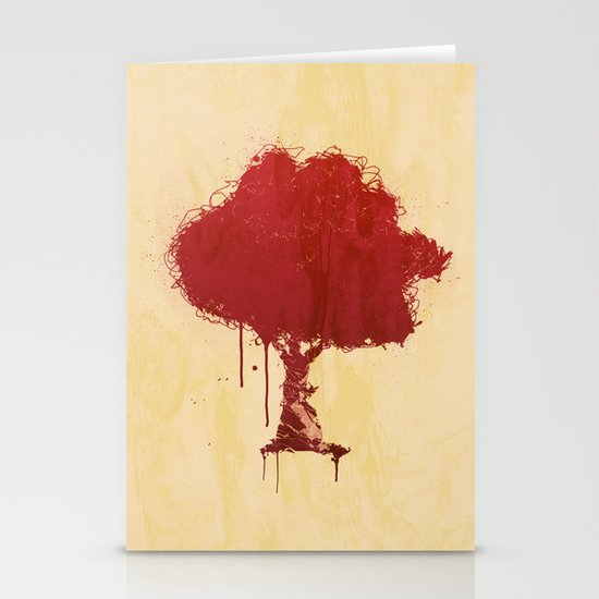 s tree t Stationery Cards