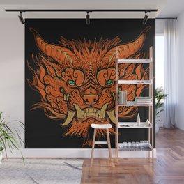 Foo Dog Wall Mural