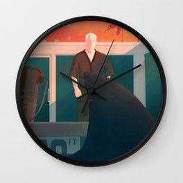 Feed the Ego Wall Clock