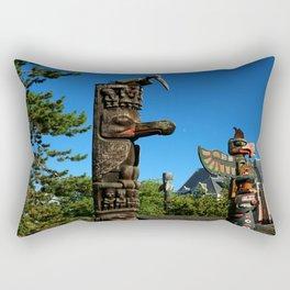 Beacon Hill Park Totem Rectangular Pillow