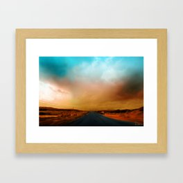 Connemara Roads Framed Art Print