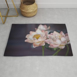 Lovely Water Lily II Rug