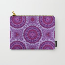Circles in Purple Carry-All Pouch