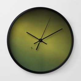 Spider in the Fog Wall Clock