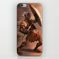 gladiator iPhone & iPod Skins featuring Gladiator by normalitea