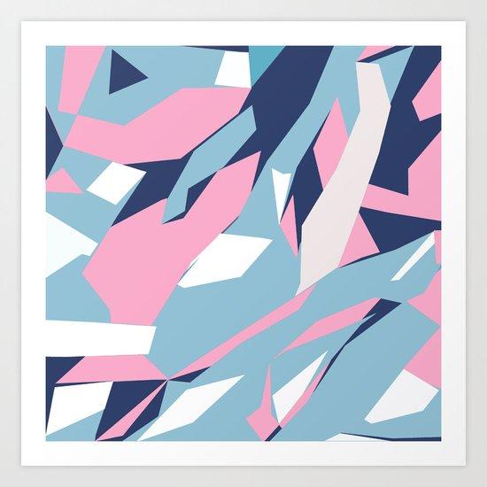 Hastings Zoom Pink Art Print