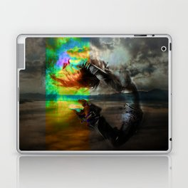 Waves in the infinite Laptop & iPad Skin