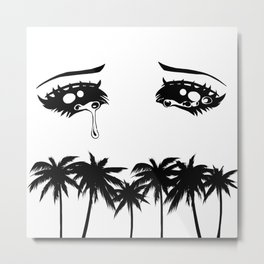 Cry Baby Miami Metal Print