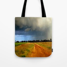 Tracking a Storm Tote Bag