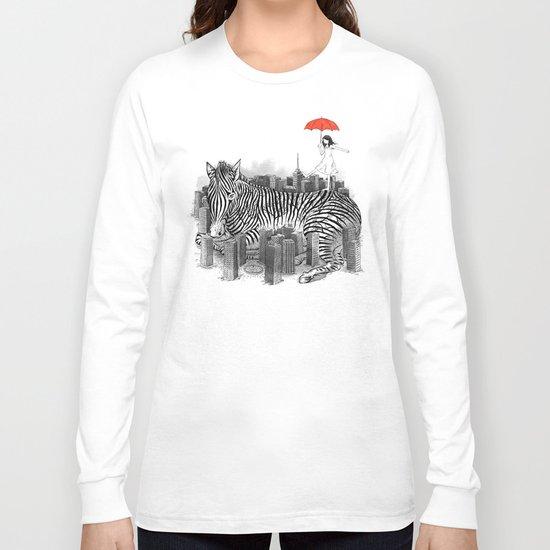 Crossing Zebra Long Sleeve T-shirt