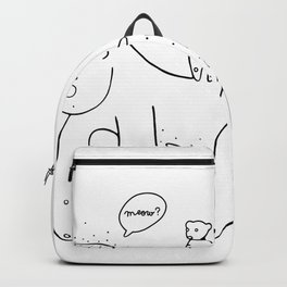 Les rencontres improbables Backpack