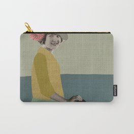 Oxford comma Carry-All Pouch