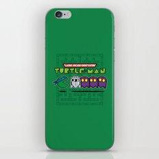 Hero in a Pac-Shell (Leo) iPhone & iPod Skin