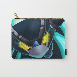 Robot Crow Character Carry-All Pouch