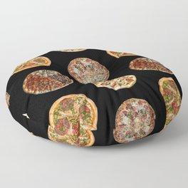 65 MCMLXV Pizza Polka Dot Pattern Floor Pillow