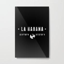 La Habana Metal Print