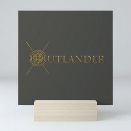 OUTLANDER GOLD Mini Art Print