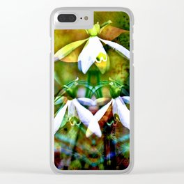 Dream of Spring Clear iPhone Case