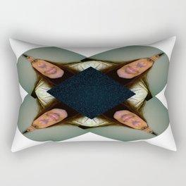A Weird foursome Rectangular Pillow