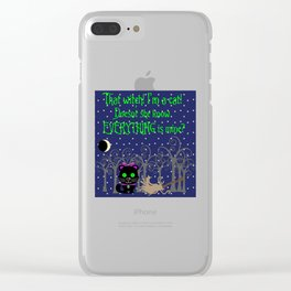 What a Witch Clear iPhone Case