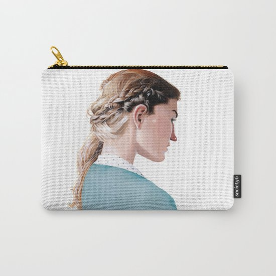 Blond Girl Carry-All Pouch