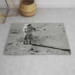 Apollo 17 - Commander Gene Cernan Rug