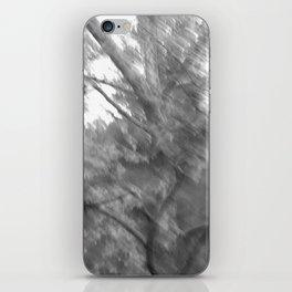 Treeage I - BW iPhone Skin