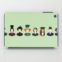 johnny depp iPad Cases featuring Johnny Depp Character Print by Loverly Prints