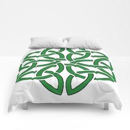 Shamrock Celtic Art Knotwork Design Comforters