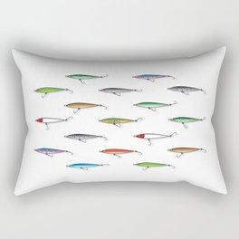 Fishing Plugs Rectangular Pillow