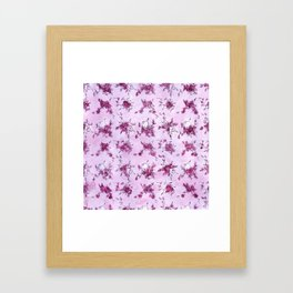 Mrs. Robinson Pattern Framed Art Print