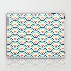 rainbowaves pattern (light) Laptop & iPad Skin