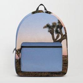 Joshua Tree California | Desert Sunset Cactus Backpack