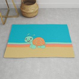 Meet Brysk the turtle Rug