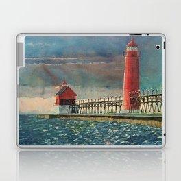Grand Haven Pier Laptop & iPad Skin