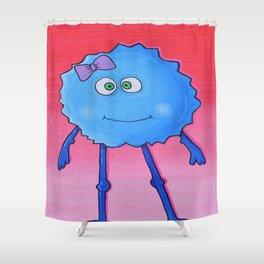 Creatch: Meet Tish Shower Curtain
