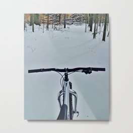 Date with Blizzard 1.1 Metal Print