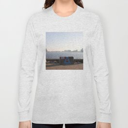 Harbour views from Amsterdam North Long Sleeve T-shirt