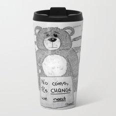 Sad bear 2 Travel Mug