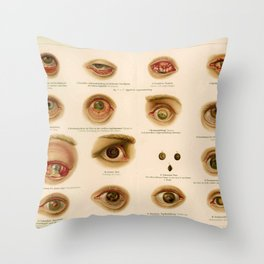 Eyes 2 The Infection Throw Pillow