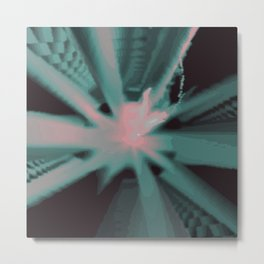 Psychedelica Chroma IX Metal Print