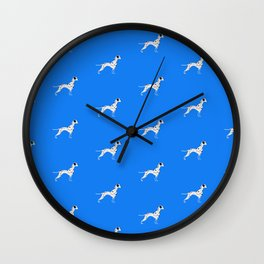 DALMATIANS ((true blue)) Wall Clock