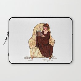 Reading fictional characters: Elizabeth Laptop Sleeve