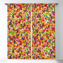 Gourmet Jelly Bean Pattern  Blackout Curtain