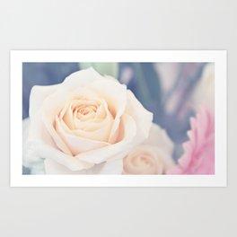 Like A Rose Art Print